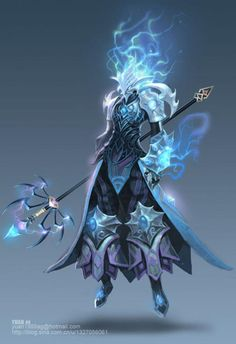 Spear mage