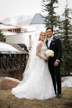 @FSVail was the perfect backdrop for this couple's elegant wedding via @TheKnot