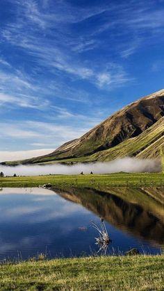 Lake Coleridge, Canterbury, New Zealand