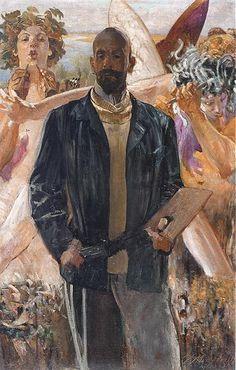 Jacek Malczewski - Self-portrait