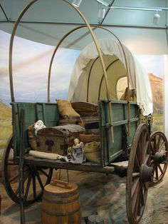 National Frontier Trails Center, Independence, Missouri interprets four historic Trails: Lewis and Clark, Santa Fe, California & Oregon.