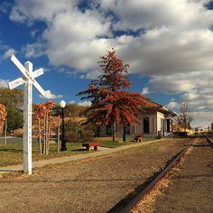 The Susanville Train Depot