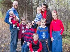 Tara Hills and her family for story by Tom Spears.