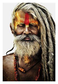 Maravillosa Nepal, otra imagen de sadhu