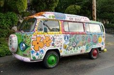 Hippie vans | and references to flower children and 1967, the epic Summer of Love ...