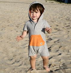 Hang Ten Gold for Andy & Evan delighted buyers with playful separates meant to wear on and off the beach. A buyers' favorite: the Terry-Towel Chillax Romper, a one-piece that's easy to slip on after a day at water's edge. The hood, brightened with bright orange terry, keeps little heads warm. www.hangtengold.com (buyers' pick)