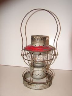 1920's New York Central Railroad lantern