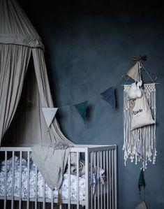 #nursery #babyroom #blue #dreams