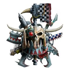 Whether you like it or not, it's time for the orks.