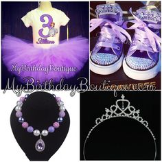 Sofia the first birthday outfit, tutu set, Sofia birthday shoes, sofia Tiara, sofia pendant necklace with