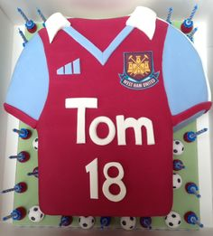 West Ham Birthday cake