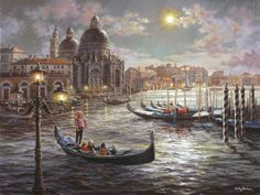 Grand Canal Venice Mural - Nicky Boehme| Murals Your Way