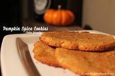 Pumpkin Spice Cookies - Paleo friendly!