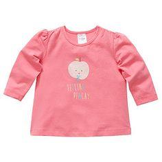 Girls' Long Sleeve Print Tee - Pink – Target Australia