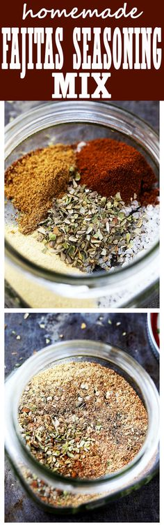 Homemade Fajitas Seasoning Mix – Spicy, salty, perfectly flavored Fajitas Seasoning Mix made at home with spices that you already have in your spice rack!