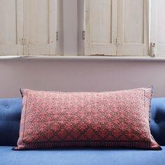 Anya Pink And Purple Rectangular Cushion - Cushions & Floor Cushions - Soft Furnishings - Home Accessories Pink Cushions, Floor Cushions, Indian Colours, Soft Furnishings, Home Accessories, Bed Pillows, Pillow Cases, Comfy, Flooring