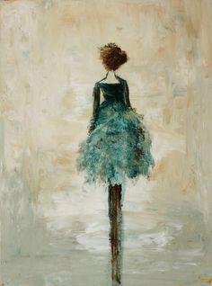 Figurative Painting dancer Swalla Studio