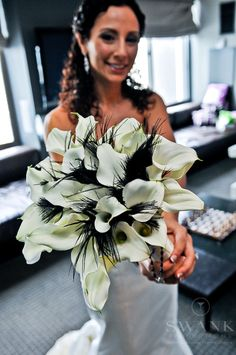 black reception wedding flowers,  wedding decor, wedding flower centerpiece, wedding flower arrangement, add pic source on comment and we will update it. www.myfloweraffair.com can create this beautiful wedding flower look.