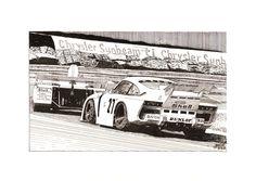 A finales de los años 70 los Porsche 935 eran unas auténticas bestias del asfalto en las carreras de resistencia como las 24 Horas de Le Mans.