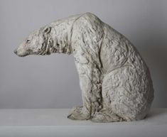 Tanya Brett Sitting Bear Signed Ceramic x x x 78 x Paper Mache Sculpture, Pottery Sculpture, Bird Sculpture, Animal Sculptures, Ceramic Sculptures, Ceramic Animals, Ceramic Art, Clay Bear, Soapstone Carving