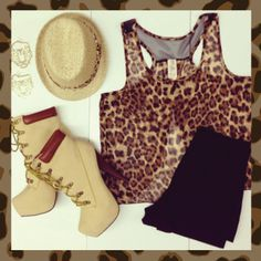 #cheetah #shorts #heels