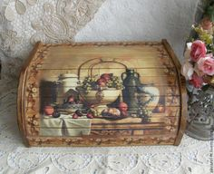 "The kitchen is handmade.  Fair Masters - handmade.  Buy Breadbasket ""house full cup.""  Handmade.  Bread, Bread Wood"