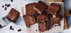 Image for Chocolate Caramel Brownies from Ghirardelli Chocolate Caramel Brownies, Ghirardelli Chocolate, Chocolate Desserts, Brownie Mix Recipes, Brownie Bar, Chocolate Company, Custom Chocolate, Cookie Bars, Bar Cookies