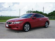 2009 Honda Accord Coupe EX-L - Body Style: Coupe  Engine: 4 Cyl - 2.4L  Transmission: Automatic  Ext. Color: San Marino Red  Int. Color: Ivory  Mileage: 58,421  VIN #: 1HGCS12889A015225  Stock #: P1120A