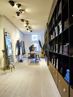 The Acne store in London with Dinesen Douglas flooring