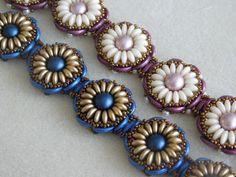 Beaded Bracelet Tutorial Beading Pattern by poetryinbeads on Etsy