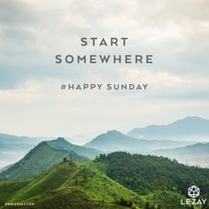 Happy Sunday and take this day to encourage yourself what you want to achieve for next week! You can do it!
