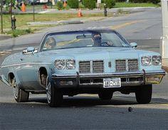 Gerard Butler -Oldsmobile Delta 88