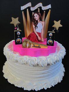 Ariana Grande cake topper 3D birthday by DesignsByKeiko, $40.00