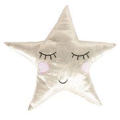 Ster Kussen Goud #girls #kidsroom #stars #gold