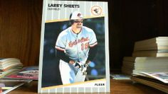 FLEER 1989 LARRY SHEETS CARD#620   ORIOLES,