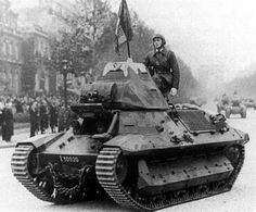 The FCM 36 was a light infantry tank that was designed for the French Army prior to World War II. It had a crew of two and was equipped with a short 37 mm main armament and a 7.5 mm coaxial machine gun. Power was provided by a diesel engine.