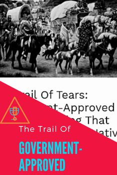 The Trail Of Tears Government Approved Ethnic Cleansing That Killed Over 15000 Native Americans