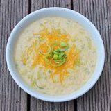 Healthy Comfort: Low-Cal Cheddar-Cauliflower Soup