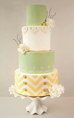 Tartas de boda - Wedding Cake - Spring colours