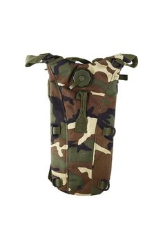 SZ-LGFM-2.5L TPU Hydration System Bladder Water Bag Pouch Backpack Hiking Climbing-Woodland camo