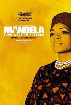 L'affiche du film sur la vie de Nelson Mandela est dévoilée