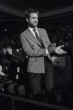 Rob inside the theater at Berlin Film Festival (Berlinale) for Life premiere, 2-8-15 (6)