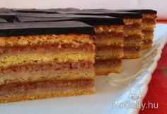 Hungarian Cuisine, Hungarian Recipes, Hungarian Food, My Recipes, Dessert Recipes, Cooking Recipes, Recipies, Pie Cake, Cakes And More