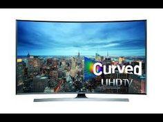 تلفاز 4k سامسونغ Samsung UN65JU6700 Curved 65 Inch 4K Ultra HD Smart LED TV