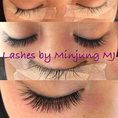 Lash extensions #lashes #Lashextensions #eyelash #extension #beauty #vancouver #속눈썹 #minding1204 #minding1204@gmail.com