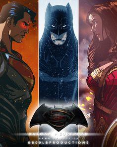 Batman v Superman: Dawn of Justice by 800PoundProductions.deviantart.com
