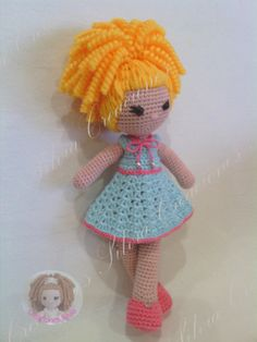 Muñeca Coleccion Nube Madeline / Creaciones Silvia - Artesanio