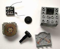 Lego® Technic Motor (43362) internals