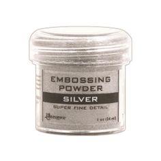EPJ37415 Ranger Super Fine Detail Embossing Powder Silver
