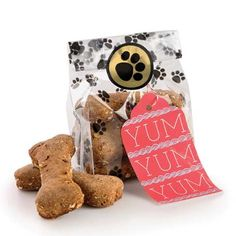 Dog Treat Bags - Set of 12. I would love to send a treat bag home with the guests!